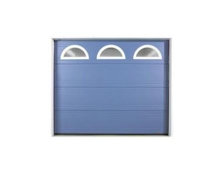 Portes de garage sectionnelles hauteur largeur for Porte de garage sectionnelle gypass