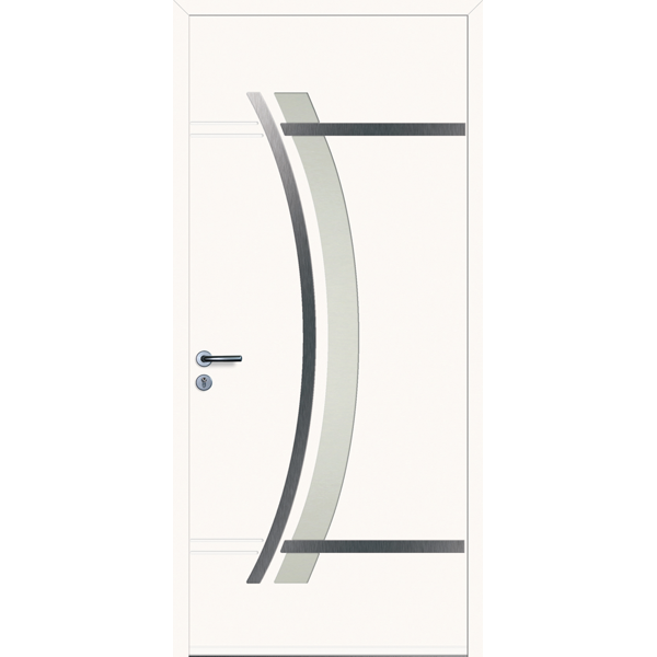 Portes d 39 entr e pvc hauteur largeur for Largeur porte d entree