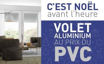 Le tablier de volet roulant aluminium au prix du PVC