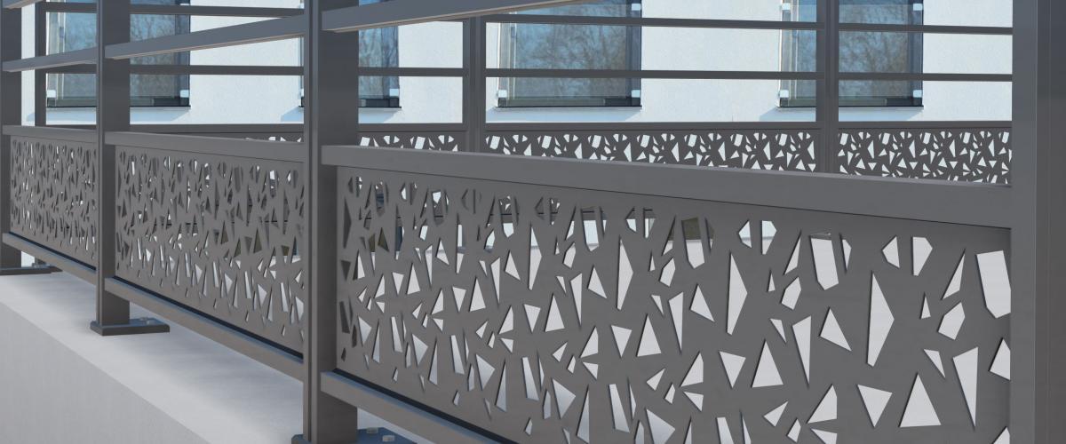Garde-corps extérieur pour vos balcon, terrasse, piscine  - Nantes