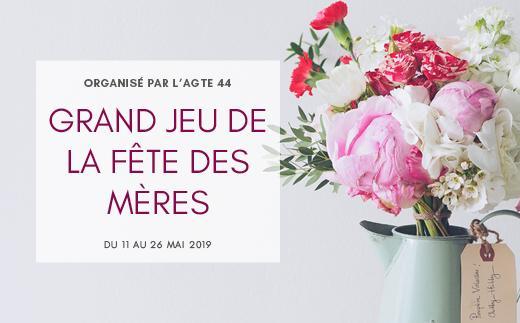Grand jeu de la fête des Mères organisé par l'association des commercants de Treillières et GrandChamp-des-fontaines