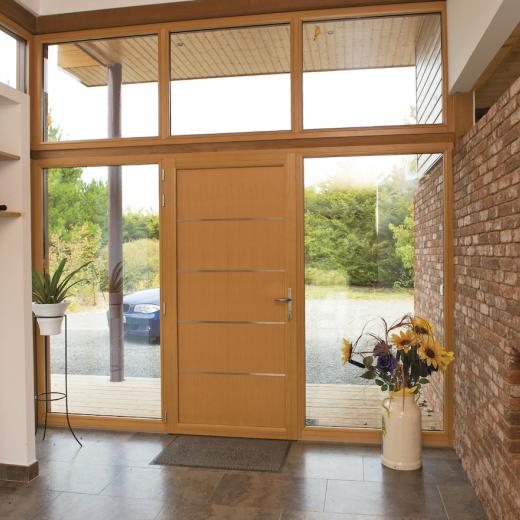 Venez découvrir une large gamme de portes d'entée mixte chez Hauteur Largeur aux portes de Nantes