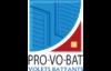 PROVOBAT - Volets battants fabriqués en Loire-Atlantique, spécialiste du volet battant avec une gamme Aluminium et PVC. Disponible chez Hauteur Largeur à Treillières et aux Sorinières